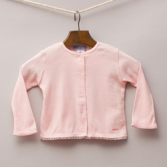 Kenzo Pink Cardigan