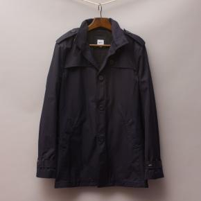 Hugo Boss Navy Coat