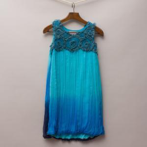 Queenie Aqua Dress