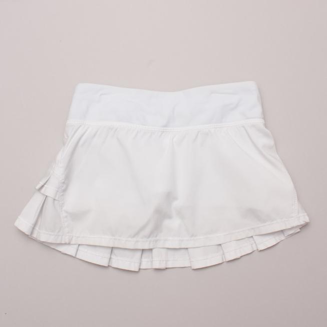 Ivivva White Tennis Skirt