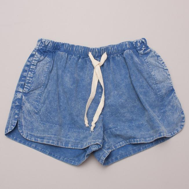 Seed Acid Wash Shorts