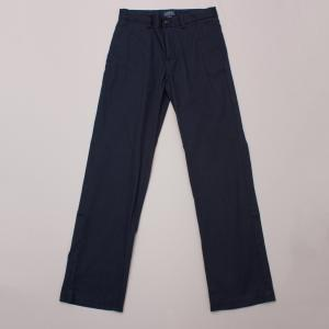 Polo Ralph Lauren Navy Blue Cotton Pants