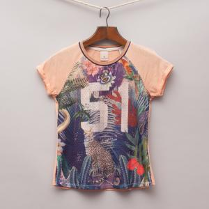 Scotch R'Belle Jungle T-Shirt