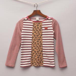 Scotch R'Belle Striped Long Sleeve