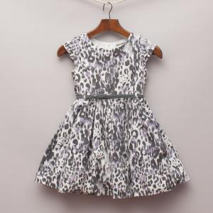 I Love Girlswear Leopard Dress