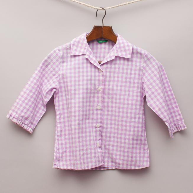 United Colours of Benetton Checked Shirt