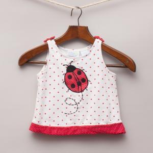 Miniwear Ladybird Top