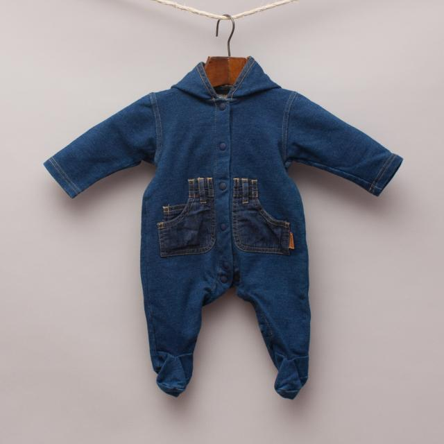 Fred Bare Denim Romper