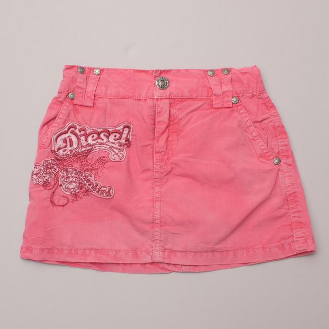 Diesel Pink Skirt