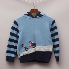 Gymboree Knitted Bicycle Jumper