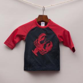 Gymboree Lobster Rash Vest