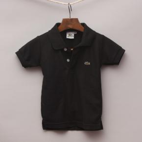 Lacoste Black Polo Shirt