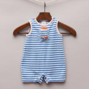 Gymboree Striped Romper
