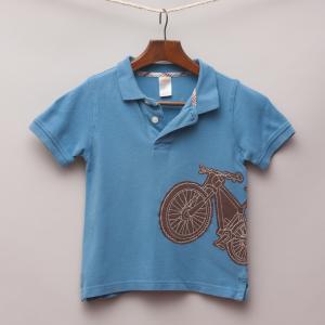 Gymboree Bicycle Polo Shirt