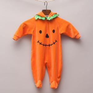 Miniwear Pumpkin Romper
