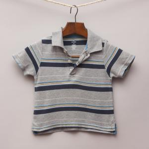 Old Navy Striped Polo Shirt