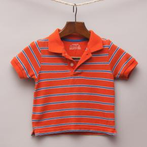 The Children's Place Bright Orange Polo Shirt