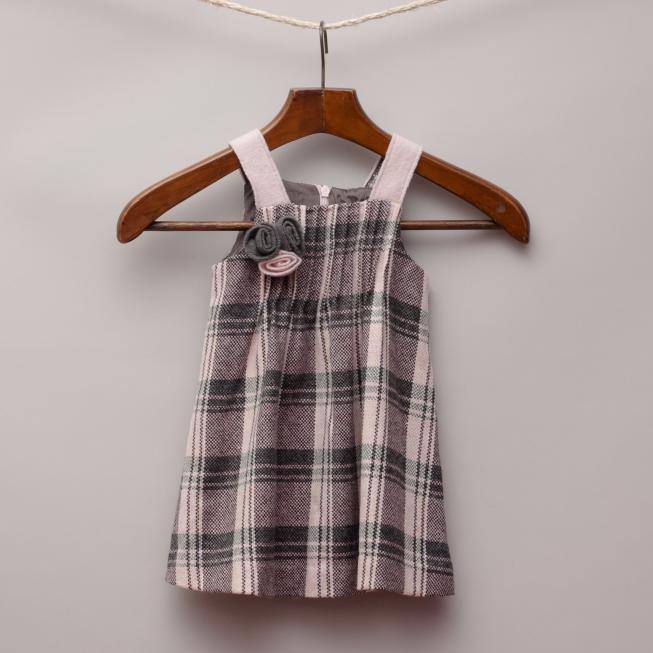 Il Gufo Check Dress