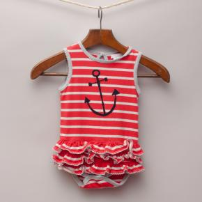 Precious Nautical Romper