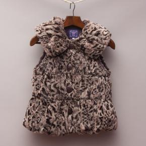 Anna Sui Leopard Vest