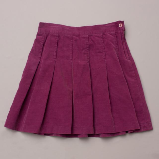 Seed Pleated Skirt