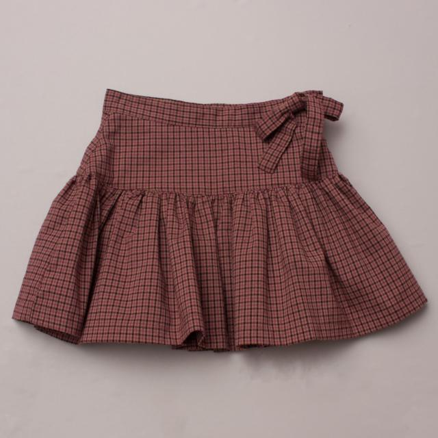 CdeC Plaid Skirt