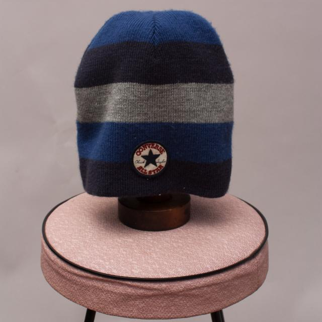 Converse Striped Beanie