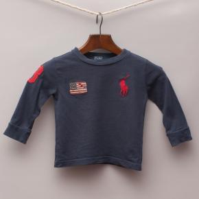 Ralph Lauren Embroidered Long Sleeve Top