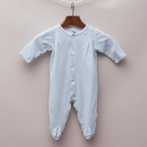 Little Me Striped Romper