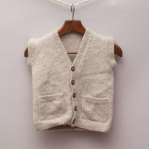 Knitted Wool Vest
