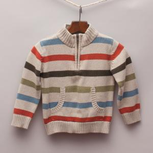 Gymboree Striped Jumper