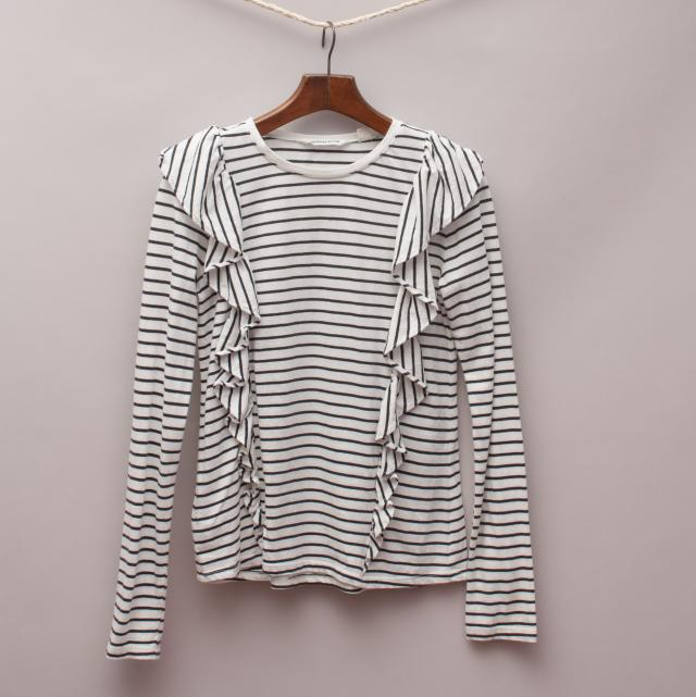 Country Road Striped Long Sleeve