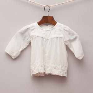 Purebaby Cream Blouse
