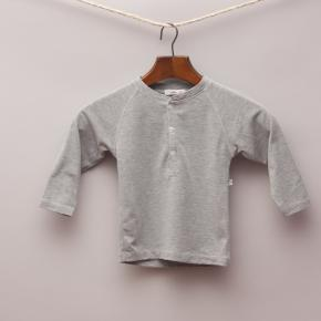 Plum Grey Long Sleeve Top