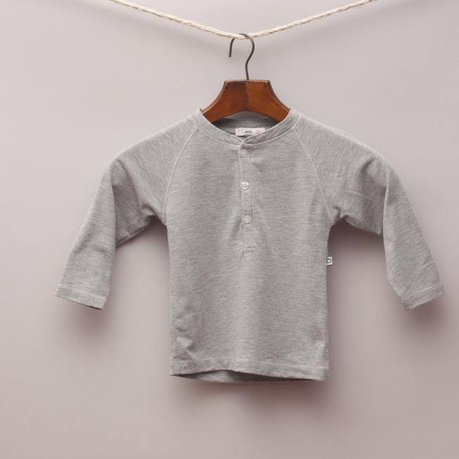 Plum Grey Long Sleeve Top