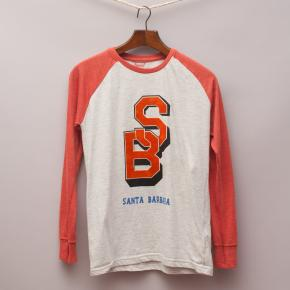 Varsity Long Sleeve Sports Top
