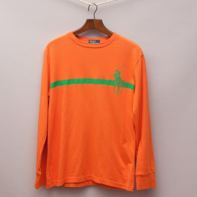 Ralph Lauren Orange Long Sleeve