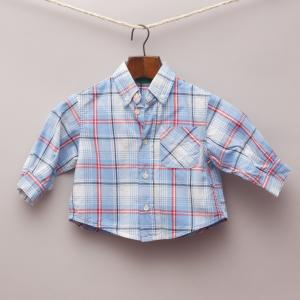 United Colours of Bennetton Checked Shirt