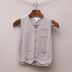 Marie Chantal Grey Vest