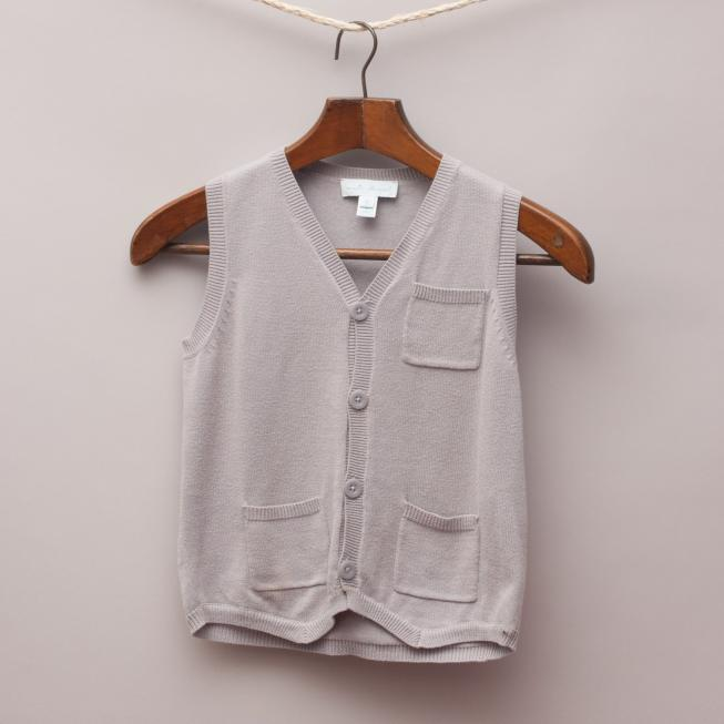 Marie Chantal Grey Vest