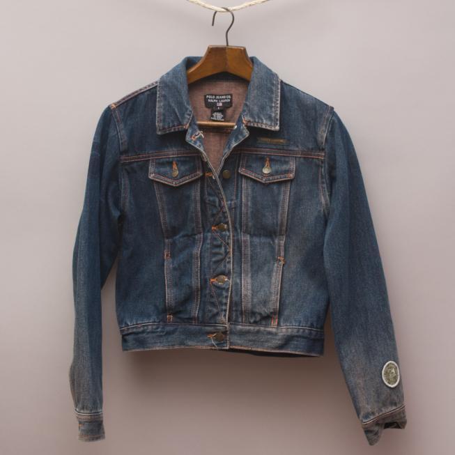 Ralph Lauren Distressed Denim Jacket