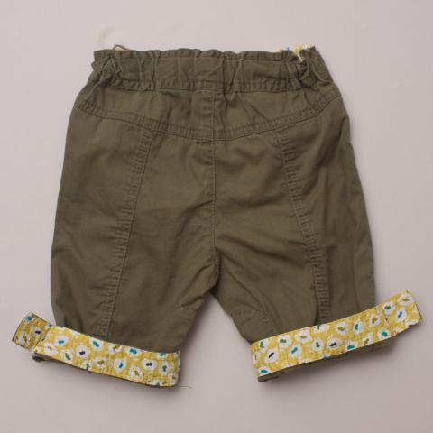 Zara Khaki Pants