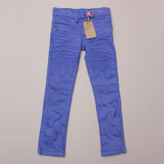 Little Rivet Dye-Look Jeans