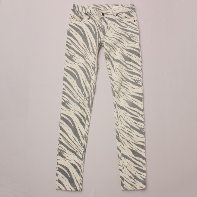 Sass & Bide Zebra Pants