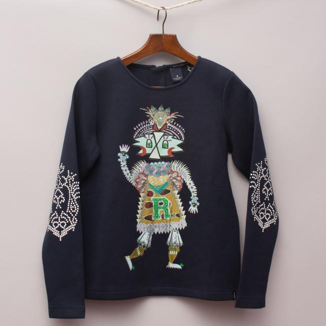 Scotch R'Belle Printed Jumper