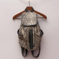 Sportsgirl Leopard Backpack