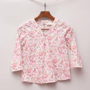 Seed Floral Blouse