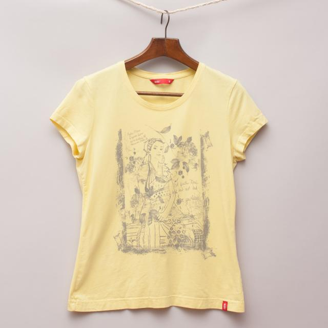 EDC Yellow T-Shirt