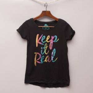 Miss Understood Metallic T-Shirt