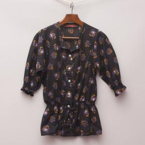 Dot & Herbey Printed Dress